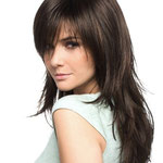 Причёска с НАКЛАДКОЙ combo - причёска с постижем, тёмно-русый