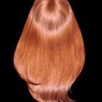Накладка для Волос, теменная - постиж, цвет медный интенсивный