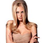 Причёска с НАКЛАДКОЙ L - причёска с постижем, бежевый блонд