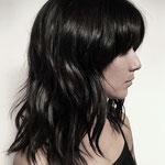 Причёска с Прядями, волосы на заколках, накладные волосы, прямые волосы