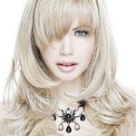 Причёска с ПРЯДЯМИ на заколках - причёска с постижем, пепельный блонд