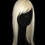 НАКЛАДКА combo на заколках - постиж, белый блонд