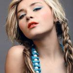 Причёска с КОСИЧКАМИ light на заколках - причёска с постижем, мелирование, натуральные оттенки