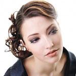 Причёска с Резинкой из Волос - причёска с объёмной резинкой, русые волнистые волосы