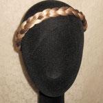 Классическая КОСА на резинке, накладная коса - постиж, из натуральных волос