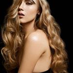Причёска с ПРЯДЯМИ на заколках - причёска с постижем, светло-русый золотистый