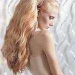 Причёска с НАКЛАДКОЙ - XL - причёска с постижем, золотистый блонд