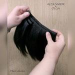 Шиньоны - ленты, волосы на заколках, накладные волосы, прямые волосы