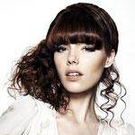 Причёска с ХВОСТОМ на крабе - причёска с постижем, тёмно-русый