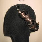 Украшение - ПОЛУМЕСЯЦ - постиж (из натуральных волос), русый, фото 6