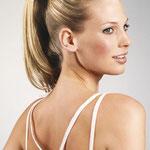 Причёска с ХВОСТОМ на резинке - причёска с постижем, светло-русый