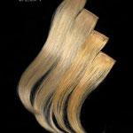 ПРЯДКИ color на заколках - постиж, золотистый блонд и бежевый блонд