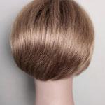 ПОЛУПАРИК, моно-парик, боб, каре, натуральный парик, светло-русый