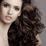 Причёска с Шиньонами, волосы на заколках, накладные волосы, волнистые волосы
