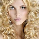 Причёска с ПРЯДЯМИ на заколках - причёска с постижем, золотистый блонд