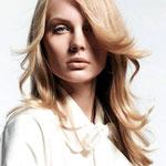 Причёска с ПРЯДЯМИ на заколках - причёска с постижем, бежевый блонд