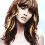 Причёска с ПРЯДКАМИ color на заколках - причёска с постижем, оттенки бежевый блонд