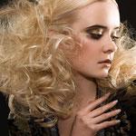 Причёска с ХВОСТИКАМИ light - причёска с постижем, золотистый блонд