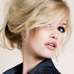 Причёска с ХВОСТОМ на крабе - причёска с постижем, светлый блонд