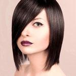 Причёска с Теменной Накладкой на силиконе, прямые волосы