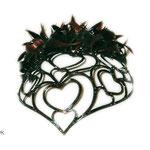 диадема, сердце к сердцу, размер 55 - 56 (натуральные славянские волосы)