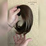 ХВОСТ на резинке, натуральный хвост, хвост на заколке, накладной хвост, прямые волосы