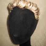 Ободок для Волос - украшение постиж, мелирование (из натуральных волос)