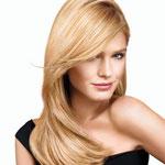 Причёска с НАКЛАДКОЙ combo - причёска с постижем, бежевый блонд