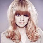 Причёска с НАКЛАДКОЙ combo - причёска с постижем, бежевый блонд прямые волосы