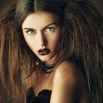 Причёска с ХВОСТИКАМИ light - причёска с постижем, тёмно-русый