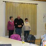 Ehrungen 40. Jahre Mitgliedschaft im TSV