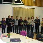 Ehrungen 15. Jahre Mitgliedschaft im TSV