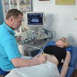 Ultraschall-Untersuchung