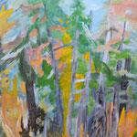 """Herbstwald"" ; 80 x 60 cm; Acryl auf Leinwand ; 1430.- Euro"