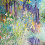 """Waldrand"" ;120 x 90 cm ; Acryl auf Leinwand; 2100.- Euro"