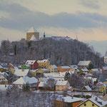 Winteransicht vom Hochberg auf Wörth, Foto: Hans Eigenstetter