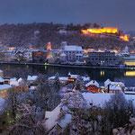 Blick auf das winterliche Passau, Foto: Stadt Passau