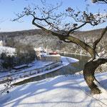 Der Donaudurchbruch im Winter, Foto: Rainer Schneck