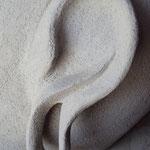 Bouddha - Détail de l'oreille.