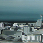 S/T · 100x40 · oil on canvas. no disponible