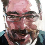 Javier · oil on canvas · 35x27 · (2012)