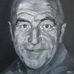 RETRATO DE MI PADRE · 50X50 · oil on canvas