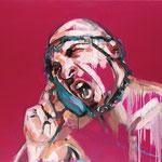 AL TELÉFONO · 146X114 · oil on canvas