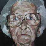 MI ABUELA · 50X70 · oil on canvas