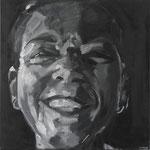 AUTORRETRATO · 50X50 · oil on canvas