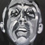 EDMUNDO II · 50X50 · oil on canvas