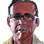 Manel · oil on canvas · 30x30 (2012)