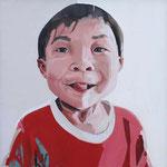 ALEGRÍA DE VIVIR I · 80X80 · oil on canvas (Ref.CO82) 1900 euros