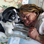 Duke & Jose · oil on canvas · 116x73 · (2012)