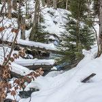 Wasser und Schnee Wunderschön